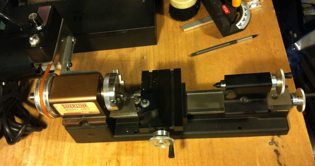 Sherline Lathe, Using it, Modifications, and Accessories ...