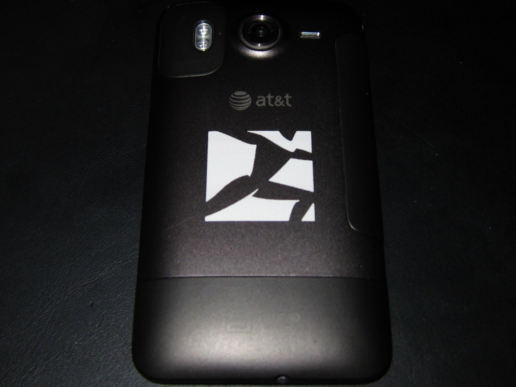 Boston Dynamics Logo on the back of HTC Phone